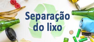 Como separar o lixo reciclável em casa
