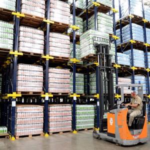 Central de armazenagem e distribuição